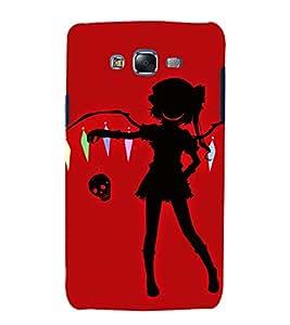 EPICCASE bold lady Mobile Back Case Cover For Samsung Galaxy J5 (Designer Case)
