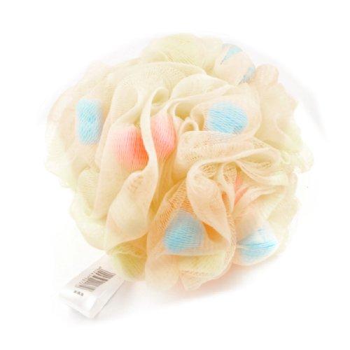 sourcingmapr-orange-nylon-bade-peeling-dusche-netz-ball-massageschwamm-puff-duschknauel-de