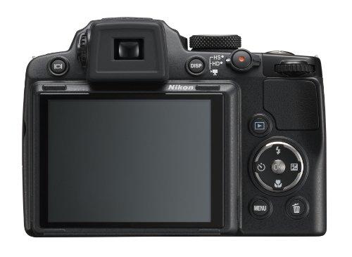 Nikon Coolpix P500 Digitalkamera (12 Megapixel, 36-fach opt. Zoom, 7,5 cm (3 Zoll) Display, Full-HD Video, bildstabilisiert) schwarz - 4