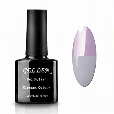 Gellen Color Changing Temperature Series Soak Off UV LED Gel Nail Polish (1 piece) 10ml Color #162