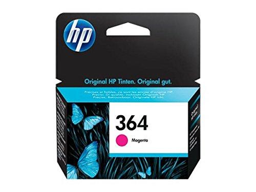 HP original - HP - Hewlett Packard OfficeJet 7515 (364 / CB 319 EE) - Tintenpatrone magenta - 300 Seiten - 3ml (Hp Druckkopf 7515)