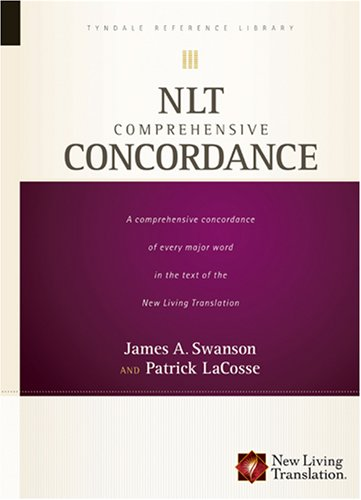 Nlt Comprehensive Concordance Tyndale Reference Library