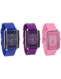 Briota New Fashion Multi Dial Color With Multi Color Rubber Strap Analogue & Digital Watch For Boys Girls Pack...