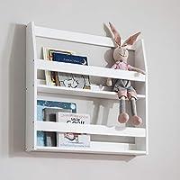 Noa and Nani - Display Wall Mounted Shelf and Bookcase - (White)