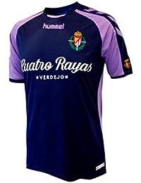 Hummel Real Valladolid CF Segunda Equipación 2018-2019, Camiseta, Marino-Violeta,