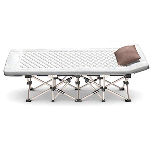 EEvER Schlafmatte Bequeme Matratze Tragbare klappbare Campingbett Matratze, tragbare waschbar atmungsaktiv Baumwolle Mat-A 191 * 71cm (Farbe : A, Größe : 191 * 71cm)