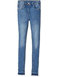 TOM TAILOR Kids Girl's Higher Waist Skinny Treaggings Jeans