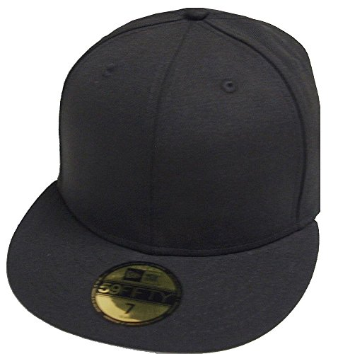 Imagen de new era black schwarz blanc blank 59fifty 5950 fitted cap kappe men