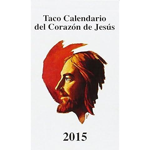 Taco calendario s.c 2015 con iman (Corazon De Jesus 2015)