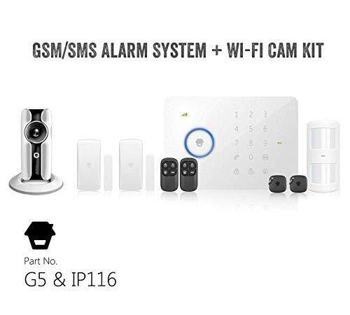 GSM/SMS Chuango RFID-radio-de alarma G5 con WiFi Cámara IP...