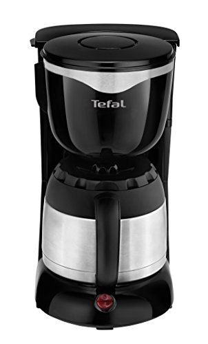 Tefal CI4408 Thermo-Kaffeemaschine (8-12 Tassen, 870 Watt) schwarz/edelstahl