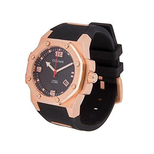 Otumm Classic Speed CLRG41001 41mm Rose Gold Schwarz Armband Unisex Uhr