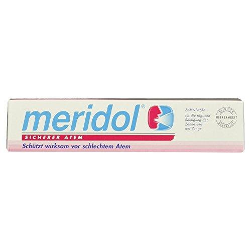 Meridol Sicherer Atem Zahnpasta, 75 ml