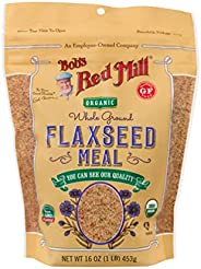 Bob's Red Mill Organic Flaxseed Meal, 45