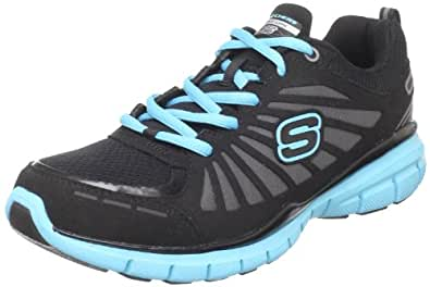Skechers  Run, sports - fitness femme - noir - Noir/BKTQ, 38,5 EU