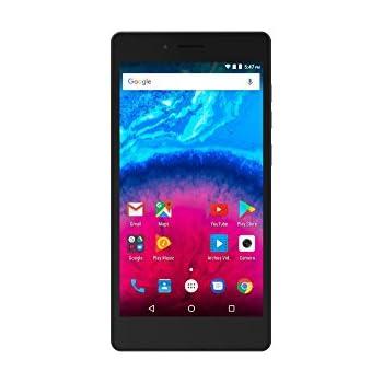 Archos Smartphone portable débloqué 4G (Ecran: 5 pouces - 8 Go - Double SIM - Android) Noir