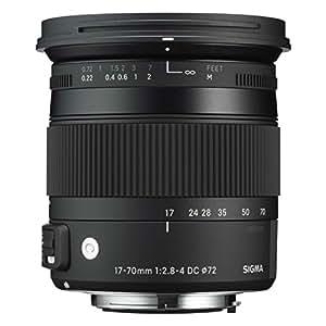 Sigma 17-70 mm f2,8-4,0 Objektiv (DC, Makro, OS, HSM, 72 mm Filtergewinde) für Sigma Objektivbajonett