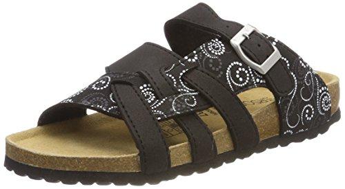 Supersoft Damen 274 147 Pantoffeln, Schwarz (Black Multi), 38 EU