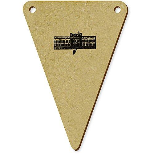 Azeeda 5 x 70mm 'Buckingham Palace' Wimpel / Banner aus Holz (BN00008037) -