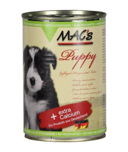MAC's Hundefutter Puppy 12 X 400 g
