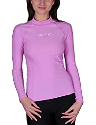 iQ-Company UV 300 Shirt Slim Fit LS - Camiseta con manga larga para mujer