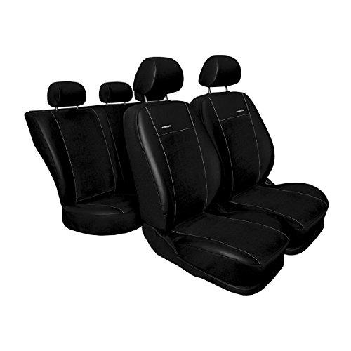 Mossa Premium (PR2) (Cucito su Misura) - Set coprisedili Auto - Nero - 5902538447645