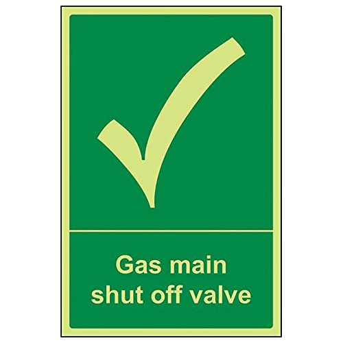 Shut Off Control Valve (VSafety Schild