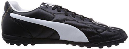 Puma Classico TT, Calcio scarpe da allenamento uomo Black/White/Puma Gold