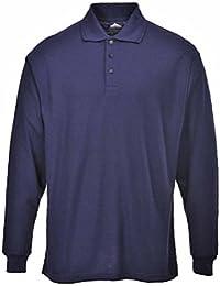 Portwest B212 - Camisa con mangas larga Polo