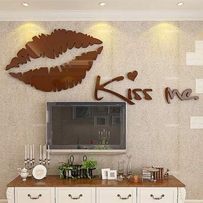 Nivea For Men Face Wash (KISSME WANDAUFKLEBER 3D STEREO ACRYL KRISTALL WANDAUFKLEBER ÖKO GESCHENK BRAUN 500X2000MM)
