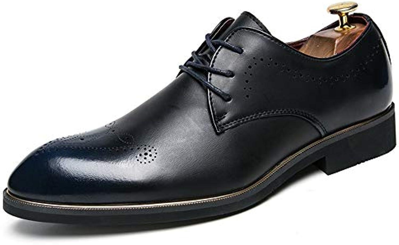 Business Oxford da Uomo Uomo Uomo Casual Fashion Brogue Classic Lace Up Low Top per comode Scarpe da Cerimonia Stile Inglese... | Commercio All'ingrosso  2e86d6