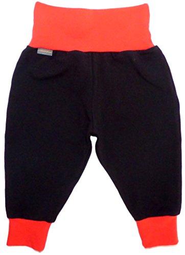 Mauala Babyhose 50-104 (62,schwarz-rot)