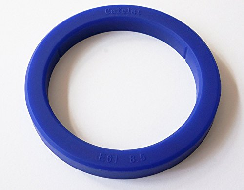 Cafelat - Silikondichtung für Espressomaschinen mit E61-Brühgruppe - Blau, 8.5mm