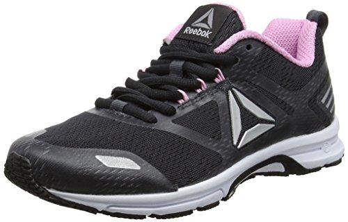 Reebok Ahary Runner, Zapatillas de Running Para Mujer, Gris (Coal/Charming Pink/Silver/White), 37 EU