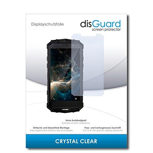 disGuard® Bildschirmschutzfolie [Crystal Clear] kompatibel mit Doogee S60 Lite [2 Stück] Kristallklar, Transparent, Unsichtbar, Extrem Kratzfest, Anti-Fingerabdruck - Panzerglas Folie, Schutzfolie