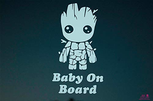 Artstickers Pegatina Baby on Board Groot
