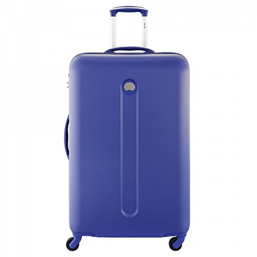 DELSEY Helium Classic Valise, 78 cm, 94 L, Bleu Outremer