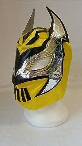 YELLOW - Lucha Dragons SIN CARA Children's Wrestling Masks