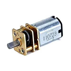WINOMO 3V-6V DC Short Shaft Torque Gear Box Motor