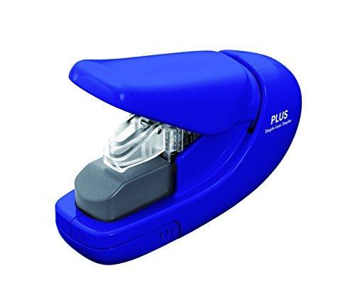 plus-corporation-metal-staple-free-stapler-paper-clinch-blue-by-plus-corporation