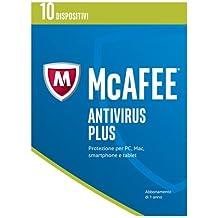 McAfee Antivirus Plus 2017 10 Dispositivi