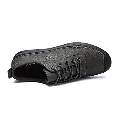 Uomo Allaperto Scarpe sportive traspirante Scarpe da corsa Scarpe di tela formatori Antiscivolo Confortevole Leggero Scarpe da lavoro euro DIMENSIONE 39-44 gray