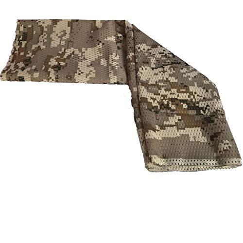 LCLrute Multifunktionstuch Gesichtsmaske,Tactical Military Art-Tarnung Camo-Schal-Verpackungs-Gesichts-Netz-Ineinander greifen-Abdeckung Waschbar, Wasserdicht, Atmungsaktiv -