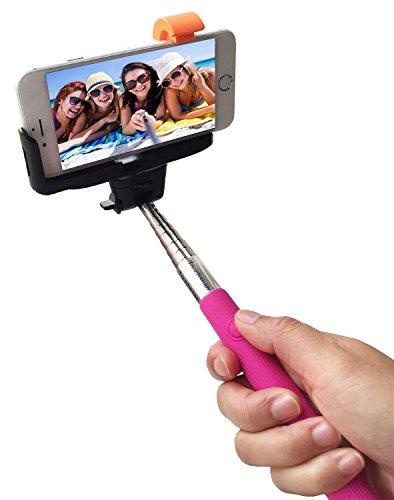 Fall für iPhone 7 Plus-Handy Smart Pinchers Form-Auto-Halterung Halter von i -Tronixs Selfie stick Black