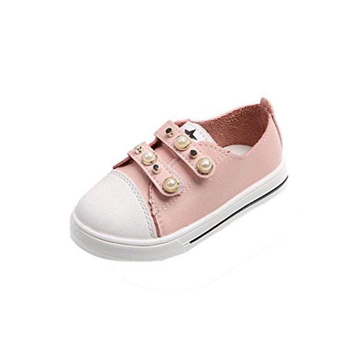 Janly Neue Kleinkind-Baby-Perlen-beiläufige Turnschuh-Schuhe im Freienmädchen-nette Schuhe (Age:1T, (Kleinkind Schuhe Native)