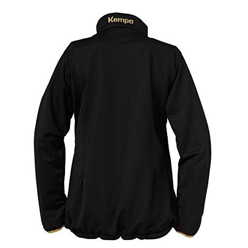 Kempa Damen Jacke Classic schwarz - Noir - Noir/or