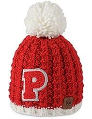 Pipolaki Campus Kids–Gorro para niño, Niño, color rojo, tamaño FR : TU (Taille Fabricant : TU)