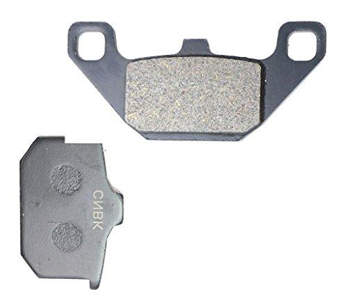 Preisvergleich Produktbild Vorderseite Left Bremse Pad Kohlenstoff fit KAWASAKI Street Bike ZN1300 ZN 1300 Voy. KZT30AG B249 85 &up 1985 &up 1 Pair(2 Pads)