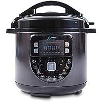Olla Programable Biochef 6 litros Color Negro - con cubeta cerámica y Piedra, Control presión