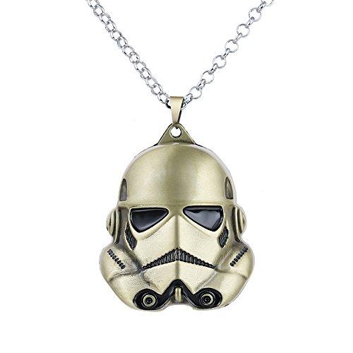 lureme-guerrera-de-las-galaxias-storm-trooper-3d-collar-bronce-antiguo-nl005392-3